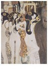 Gustav Klimt (1862-1918)  -  The Gorgons and Typheus, 1902 - Postkaart -  A81575-1