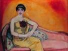 Jan Sluijters (1881-1957)  -  Italiaans meisje - Postkaart -  A8179-1