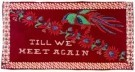 Anoniem  -  Batikdoek'Till we - Postkaart -  A8188-1