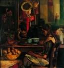 Piet Wiegman (1885-1963)  -  Aardappelschil meisje - Postkaart -  A8192-1