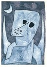 Paul Klee (1879-1940)  -  Angel Applicant, 1939 - Postkaart -  A82451-1
