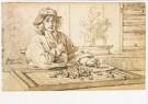 Jacobus Heyblocq (1623-1690)  -  J.Heyblocq/Album Amicorum/KB - Postkaart -  A8251-1