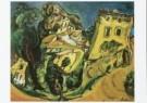 Chaim Soutine (1893-1943)  -  Landschap - Postkaart -  A8257-1