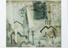 Bram Bogart (1921-2012)  -  Kamelen, 1952 - Postkaart -  A8269-1