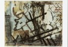 Bram Bogart (1921-2012)  -  Dierentekens, december 1951 - Postkaart -  A8270-1