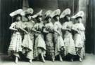 Anoniem,  -  Dansende meisjes - Postkaart -  A8345-1