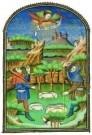 Jean Fouquet (ca.1420-1477/81) -  Verkondiging aan Herders - Postkaart -  A8368-1