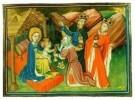 Jean Fouquet (ca.1420-1477/81) -  Aanbidding der Koningen - Postkaart -  A8370-1