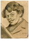 Theo van Doesburg (1883-1931)  -  Zelfportret met tekendoos, 1905 - Postkaart -  A83725-1