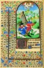 Jean Fouquet (ca.1420-1477/81) -  Verkondiging Herders - Postkaart -  A8378-1