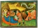Jean Fouquet (ca.1420-1477/81) -  Geboorte van Christus - Postkaart -  A8382-1