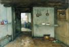 Johannes Hendrik Weissenbruch  -  Binnehuis - Postkaart -  A8388-1