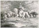 Rodolphe Bresdin (1825-1885)  -  R.Bresdin/La Cavalière/GM - Postkaart -  A8389-1