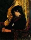 Suze Robertson (1855-1922)  -  Slapend meisje - Postkaart -  A8422-1