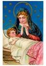 Anonymus  -  Maria staat bij Jezus - Postkaart -  A84586-1