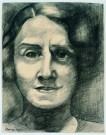 Charlie Toorop (1891-1955)  -  vrouwenportret - Postkaart -  A8476-1