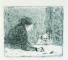 Pierre Bonnard (1867-1947)  -  de grootmoeder - Postkaart -  A8486-1