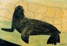 S.Jessurun de Mesquita(1868-19 -  Zeeleeuw - Postkaart -  A8489-1