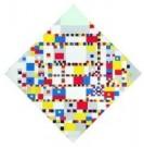 Mondriaan (1872-1944)Mondrian  -  Victory Boogie Woogie - Postkaart -  A8507-1