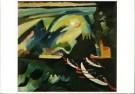 Vassily Kandinsky (1866-1944)  -  Kahnfahrt / Boottocht - Postkaart -  A8514-1