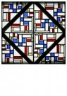 Theo van Doesburg (1883-1931)  -  Stained-Glass Composition III, 1917 - Postkaart -  A85162-1