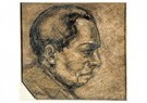 Theo van Doesburg (1883-1931)  -  Portrait of a Man in Profil, 1906 - Postkaart -  A85940-1
