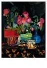 Germ de Jong (1886-1967)  -  Stilleven rozen - Postkaart -  A8595-1