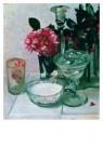 Floris Verster (1861-1927)  -  Stilleven met Camelia's hulst - Postkaart -  A8609-1