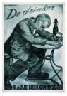 Aart v Dobbenburgh (1899-1988) -  Affiche voor de drankbestrijding, 1935 - Postkaart -  A8610-1