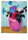 Jan Sluijters (1881-1957)  -  Stilleven met roz - Postkaart -  A8633-1