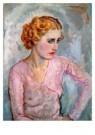 Jan Sluijters (1881-1957)  -  Jonge vrouw met - Postkaart -  A8648-1