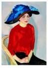 Jan Sluijters (1881-1957)  -  Vrouwenportret - Postkaart -  A8649-1