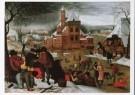 P. Bruegel d Jonge (1564-1638) -  Winterlandschap, tweede kwart 16e eeuw - Postkaart -  A8652-1