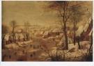 P. Bruegel d Jonge (1564-1638) -  P. Brueghel de Jonge/Winterlan - Postkaart -  A8657-1
