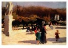 Jan Sluijters (1881-1957)  -  Park te Madrid - Postkaart -  A8672-1