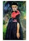 Jan Sluijters (1881-1957)  -  Staphorster meisje, ca. 1915 - Postkaart -  A8673-1