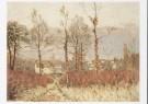 Alfred Sisley (1839-1899)  -  A. Sisley/Gezicht op Louvecien - Postkaart -  A8690-1