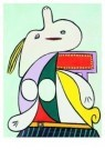Pablo Picasso (1881-1973)  -  La ceinture jaune - Postkaart -  A8711-1
