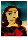 Pablo Picasso (1881-1973)  -  Portrait de Dora M - Postkaart -  A8714-1
