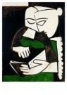 Pablo Picasso (1881-1973)  -  Het lezen - Postkaart -  A8723-1