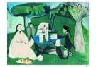 Pablo Picasso (1881-1973)  -  Le dTjeuner sur - Postkaart -  A8727-1