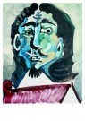 Pablo Picasso (1881-1973)  -  Musketier - Postkaart -  A8729-1
