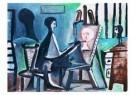 Pablo Picasso (1881-1973)  -  Le peintre - Postkaart -  A8732-1