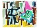 Pablo Picasso (1881-1973)  -  Le peintre et son - Postkaart -  A8734-1