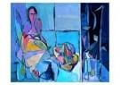 Geer van Velde (1898-1977)  -  Vrouw bij het raam - Postkaart -  A8758-1