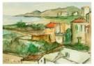 Theo Swagemakers (1898-1994)  -  Landschap Nerga - Postkaart -  A8774-1