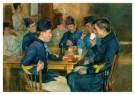 H.M. Krabbe (1868-1931)  -  De Kantine - Postkaart -  A8792-1