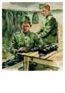 E.A.Hof  -  Het poetsen van beenkappen - Postkaart -  A8793-1