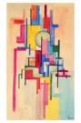 Wobbe Alkema (1900-1984)  -  Compositie 24 - Postkaart -  A8852-1