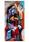 Pablo Picasso (1881-1973)  -  De roker en de liefde - Postkaart -  A8875-1